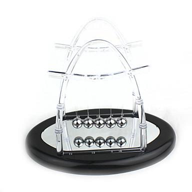 atualizar brinquedo de desktop espelho reflexo transparente Berço de Newton bolas de equilíbrio ciência pêndulo