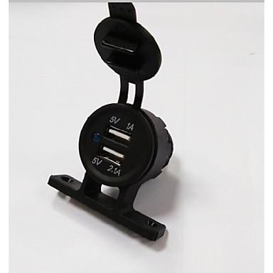 Lossmann dual usb auto-oplader van hoge kwaliteit