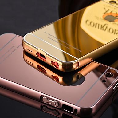 armação de metal banhado acrescenta luxo capinha escudo do telefone tampa transparente de acrílico para iphone 5c (cores sortidas)