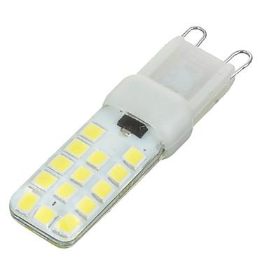 300-400 lm G9 Luminárias de LED  Duplo-Pin Encaixe Embutido 28 leds SMD 2835 Regulável Branco Frio AC 220-240V