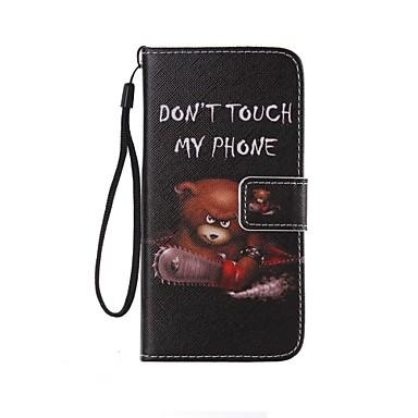 Capinha Para Samsung Galaxy Samsung Galaxy Capinhas Porta-Cartão Carteira Com Suporte Flip Estampada Capa Proteção Completa Palavra /