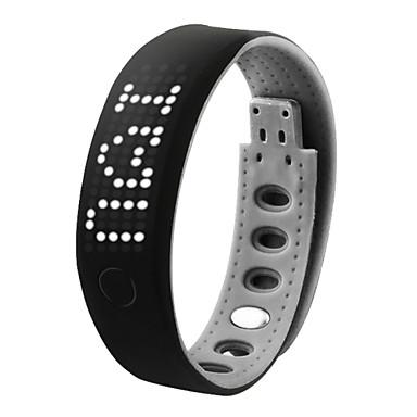 Masculino Relógio de Pulso Digital LED sensível ao toque Calendário Cronógrafo Impermeável alarme Silicone Banda PretaCinzento Rosa Verde