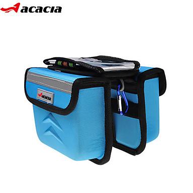 Bolsa de Bicicleta 1.8LBolsa para Quadro de Bicicleta Á Prova-de-Água / Á Prova-de-Chuva / Vestível / Touch Screen / Bolsa RígidaBolsa de