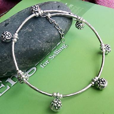 Dames Strand Armbanden Verzilverd Zilver Sieraden Voor Feest Dagelijks Causaal 1 stuks