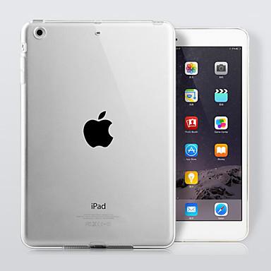 Кейс для Назначение iPad 4/3/2 Прозрачный Кейс на заднюю панель Сплошной цвет ТПУ для iPad 4/3/2
