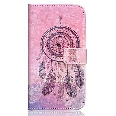 Voor Samsung Galaxy hoesje Hoesje cover Portemonnee Kaarthouder met standaard Flip Volledige behuizing hoesje Dromenvanger PU-leer voor