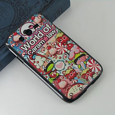 Para Samsung Galaxy Capinhas Estampada Capinha Capa Traseira Capinha Desenho PC Samsung Grand Neo