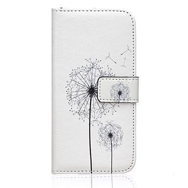 Voor Samsung Galaxy hoesje Hoesje cover Portemonnee Kaarthouder met standaard Flip Volledige behuizing hoesje Paardebloem PU-leer voor