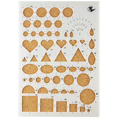 Tatil Süslemeleri Şekiller Kağıt Sanatı DIY Aletler Yüksek kalite 1set 1pc