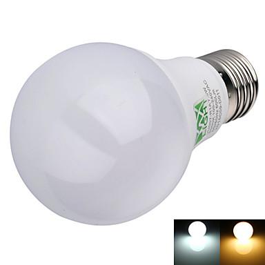 E26/E27 LED-bollampen A60 (A19) 16 leds SMD 2835 Decoratief Warm wit Koel wit 600lm 2800-3200/6000-6500K AC 100-240V