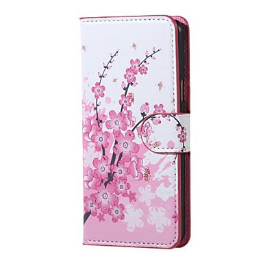 Voor Samsung Galaxy hoesje Hoesje cover met standaard Flip Volledige behuizing hoesje Bloem PU-leer voor Samsung J5 (2016)