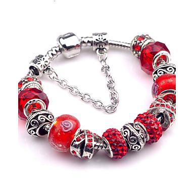 Dames Bedelarmbanden Vintage Armbanden Legering Sieraden Feest Dagelijks Causaal Kostuum juwelen Paars Rood Groen Blauw