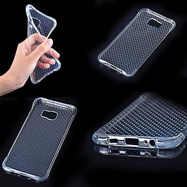 Capinha Para Samsung Galaxy Samsung Galaxy Capinhas Antichoque Transparente Capa traseira Côr Sólida TPU para A7(2016) A5(2016) A3(2016)