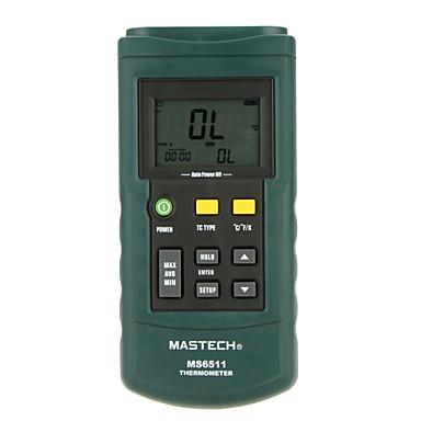 MASTECH ms6511-シングルパスK / J / T / Eタイプの熱電対の温度検出器 - シングルパス温度gaug