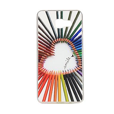 Voor Samsung Galaxy hoesje Patroon hoesje Achterkantje hoesje Hart TPU Samsung A7(2016) / A5(2016) / A3(2016) / A7 / A5 / A3