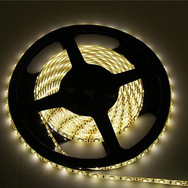 Flexibele LED-verlichtingsstrips 600 LEDs Warm wit Wit Knipbaar Waterbestendig Zelfklevend Koppelbaar DC 12V