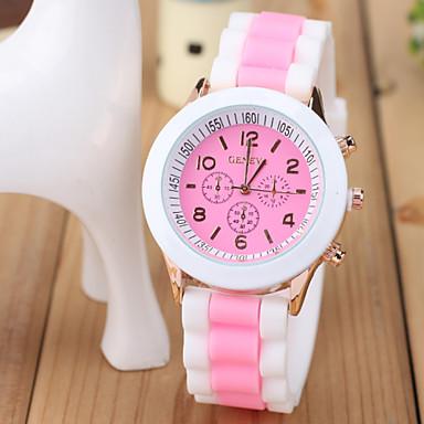 Mulheres Relógio de Moda Relógio Casual Quartzo Venda imperdível Plastic Banda Amuleto Preta Branco Azul Marrom Rosa Roxa