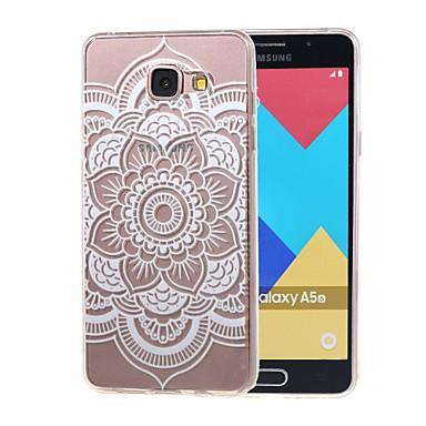 holle bloem nieuwe zachte TPU achterkant van de behuizing Cover voor Samsung Galaxy a3 (2016) a310 a310f / a5 (2016) A510 a510f-6