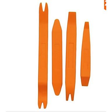 conjunto de ferramentas porta auto painel clipe de remoção da guarnição 4pçs para o carro traço de rádio áudio ferramenta de instalador