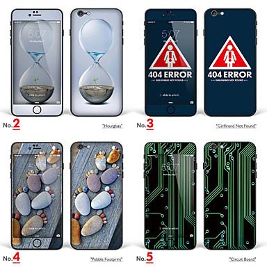 abordables Skin Autocollants pour iPhone-1 pièce Ecran de Protection Intégral pour Bande dessinée iPhone 6s Plus/6 Plus