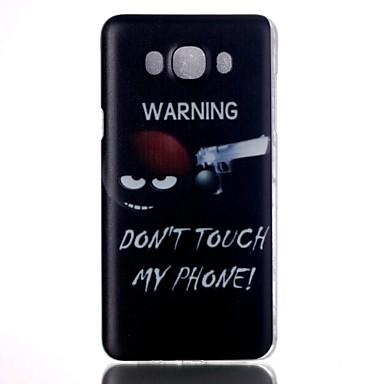 Voor Samsung Galaxy hoesje Patroon hoesje Achterkantje hoesje Woord / tekst PC Samsung J7 / J5 (2016) / J5 / J1