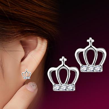 Dames Oorknopjes Sterling zilver Zilver Kroonvorm Sieraden Bruiloft Feest Dagelijks Causaal Sport Kostuum juwelen