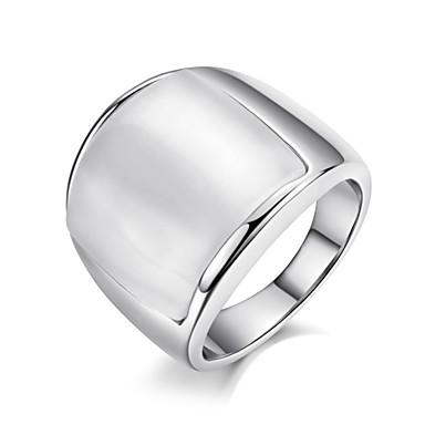 Női Nyilatkozat gyűrű Opál Ötvözet hölgyek Luxus Divat Divatos gyűrű Ékszerek Ezüst / Aranyozott Kompatibilitás Parti Egy méret