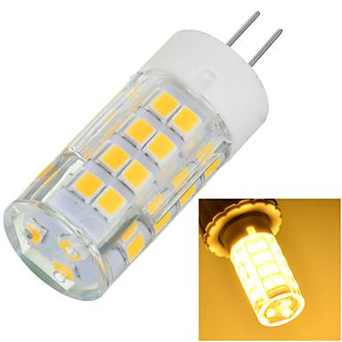 500-600 lm G4 LED betűzős izzók Süllyesztett 51 led SMD 2835 Dekoratív Meleg fehér Hideg fehér AC 220-240V