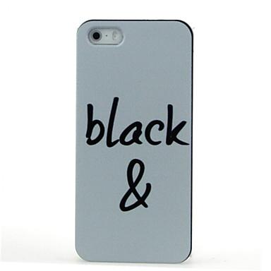 patroon harde case voor de iPhone 5 / 5s