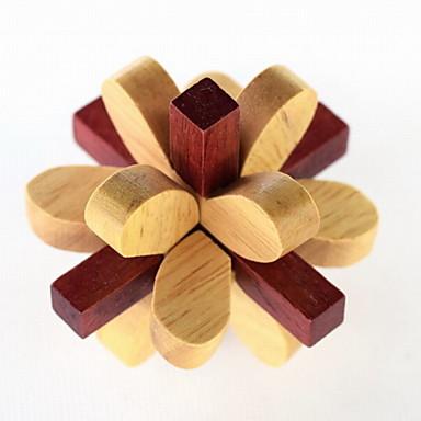 brinquedos quebra-cabeça de desbloqueio ciclo de descompressão de madeira de moda