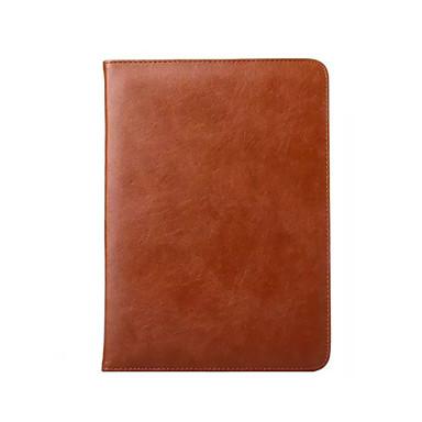 케이스 제품 아이 패드 미니 3/2/1 카드 홀더 스탠드 자동 슬립 / 웨이크 기능 오리가미 전체 바디 케이스 한 색상 진짜 가죽 용 iPad Mini 3/2/1