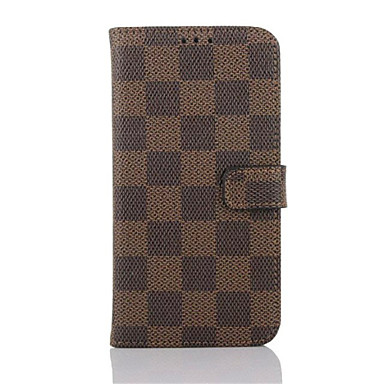 hoesje Voor Samsung Galaxy Samsung Galaxy S7 Edge Kaarthouder Portemonnee met standaard Flip Volledig hoesje Geometrisch patroon PU-nahka