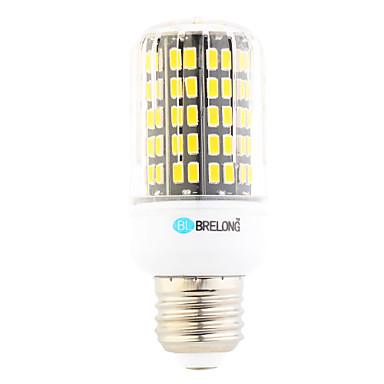 7W 650-700 lm E26/E27 LED 콘 조명 T 108 LED가 SMD 따뜻한 화이트 차가운 화이트 AC 220-240V
