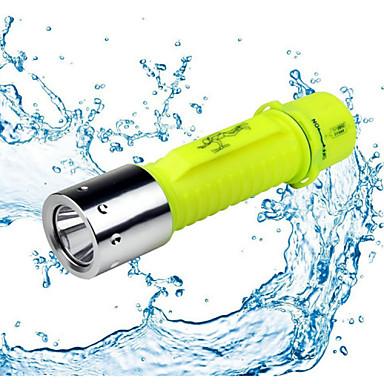 LED zseblámpák LED 500 Lumen 1 Mód - AA Vízálló Kempingezés/Túrázás/Barlangászat Mindennapokra Búvárkodás/Hajózás Vadászat Utazás Mászás