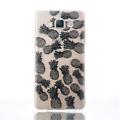Mert Samsung Galaxy tok Átlátszó / Minta Case Hátlap Case Gyümölcs TPU Samsung A5