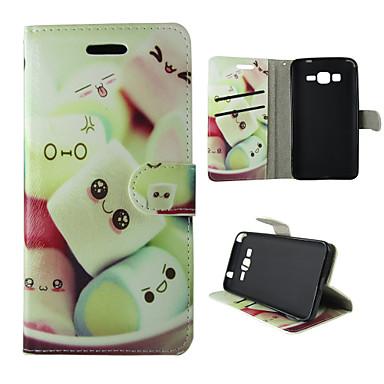 Mert Samsung Galaxy tok Kártyatartó / Pénztárca / Állvánnyal / Flip Case Teljes védelem Case Rajzfilmfigura Műbőr SamsungTrend Duos / J5