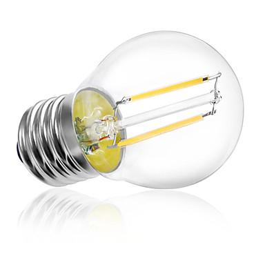 HRY 1pc 2W 180 lm E26/E27 LED Filament Bulbs A60(A19) 2 leds High Power LED Decorative Warm White Cold White AC 220-240V