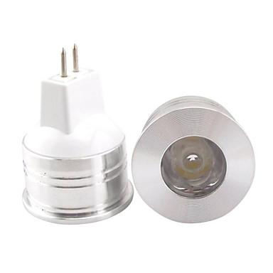 GU5.3(MR16) LED szpotlámpák PAR38 1 led Nagyteljesítményű LED Dekoratív Meleg fehér Hideg fehér 3000/6500lm 3000K/6500KK DC 12V