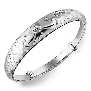 Dames Bangles Verzilverd Sieraden Voor Bruiloft