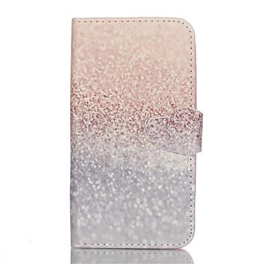 Voor Samsung Galaxy hoesje Portemonnee / Kaarthouder / met standaard / Flip hoesje Volledige behuizing hoesje Glitterglans PU-leer Samsung