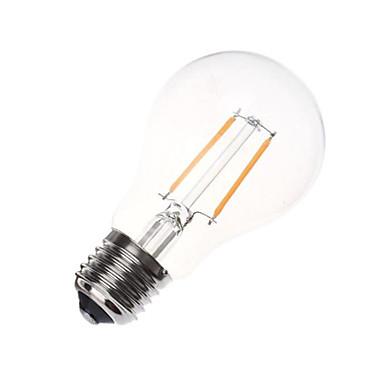 1pc 2w e26 / e27 led izzók a60 (a19) 180lm meleg fehér hideg fehér dekoratív ac220-240v
