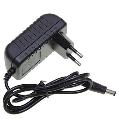 eu dugó 12v 1a 5,5 x 2,1 mm led szalag fény / CCTV biztonsági kamera monitor tápegység adapter dc2.1 ac100-240v