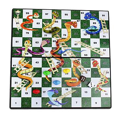 oktatási hordozható összecsukható mágneses kígyók& létrák utazási asztali asztali társasjáték