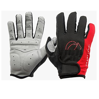 IZUMI® Sports Gloves Bike Gloves / Cycling Gloves 3D Pad / Moisture Permeability / Wearable Full finger Gloves Spandex / Cotton Fibre /