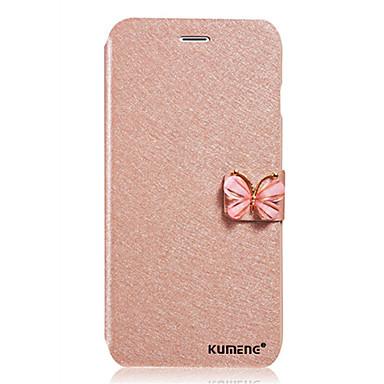 용 Samsung Galaxy Note 카드 홀더 / 플립 케이스 풀 바디 케이스 단색 인조 가죽 Samsung Note 5 / Note 4 / Note 3