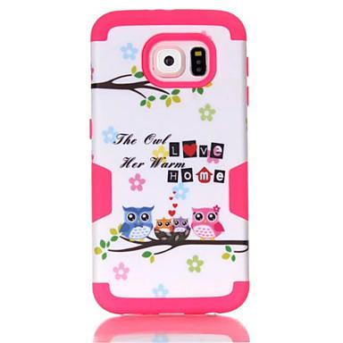 Mert Samsung Galaxy tok Ütésálló / Minta Case Hátlap Case Páncél PC Samsung S7