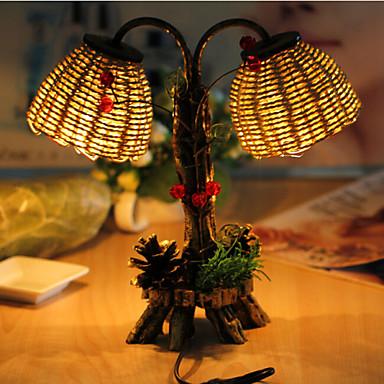 아이를위한 창조적 인 나무를 두 번 빛을 항해 램프 장식 책상 램프 침실 램프 선물