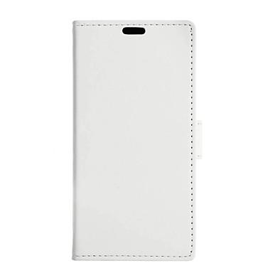 Para Samsung Galaxy Capinhas Porta-Cartão / Carteira / Com Suporte / Flip Capinha Corpo Inteiro Capinha Cor Única Couro PU SamsungJ5