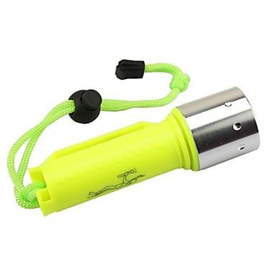 Χαμηλού Κόστους Φακοί-LS1779 Φακοί Κατάδυσης LED Cree® XM-L2 T6 1 Εκτοξευτές 2000 lm 1 τρόπος φωτισμού με μπαταρία και φορτιστή Αδιάβροχη Ανθεκτικό στα Χτυπήματα Μικρό Μέγεθος