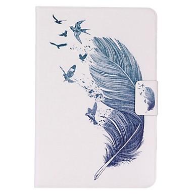 Case Kompatibilitás iPad Mini 3/2/1 Kártyatartó Állvánnyal Héjtok Tollak PU bőr mert iPad Mini 3/2/1